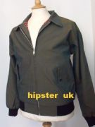 Green tonic Harrington Jacket